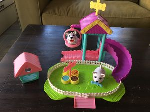 Chubby Puppies Park Playset + 2 Chubby Puppies for Sale in Redondo Beach, CA