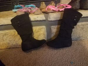 toddler girl knee high boots for Sale in Pollok, TX