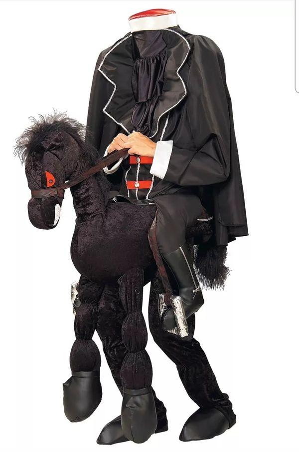 Headless Horseman Adult Halloween Costume ~ Mens Women's ~ Ichabod Crane