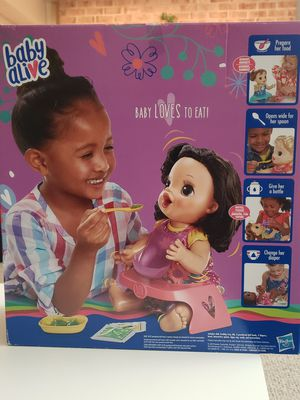 Baby alive, Happy hungry baby for Sale in Fairfax, VA
