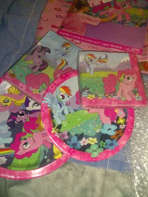 My little pony party! for Sale in Auburn, WA