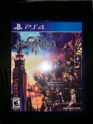 PS4 Game Disney Kingdom Hearts III for Sale in Phoenix, AZ