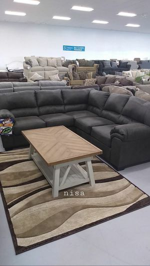 $39 DOWN❗BEST Deal 🛬 Bladen Slate LAF Sectional 67 for Sale in Jessup, MD