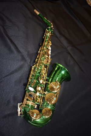 Green and Gold Saxophone for Sale in Everett, WA