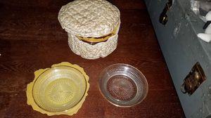 11 Vintage Gold Rimmed Dessert Plates for Sale in Chicago, IL