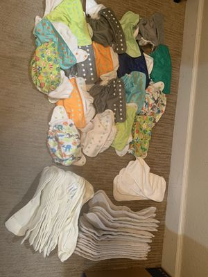 Cloth diaper lot pocket diapers $150 obo for Sale in Evans, CO