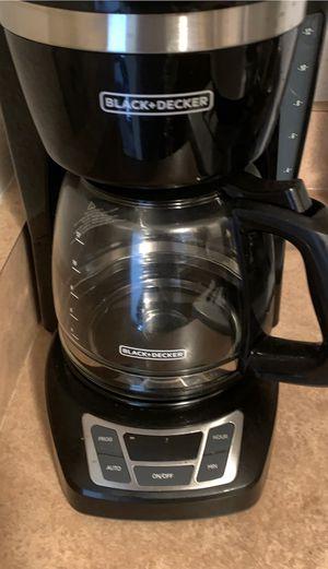 Black Decker - coffee maker for Sale in Long Beach, CA