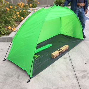 New in box $15 each 7x3 feet beach tent sun shade 3 person use blue color for Sale in Norwalk, CA