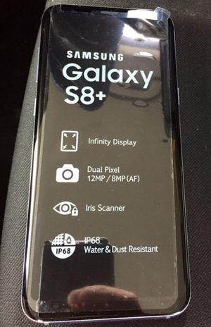 Samsung Galaxy s8 plus GSM unlocked 64GB silver for Sale in North Miami Beach, FL