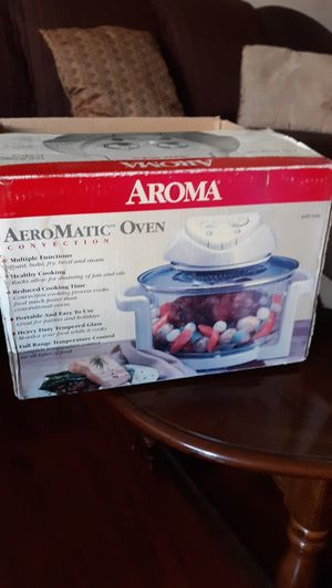 Aeromatic Oven multiple functions open box, never use for Sale in Colton, CA