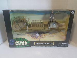 Star wars potf tatooine skiff sealed mib for Sale in Saint Paul, OR