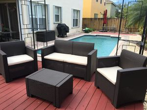Patio-Outdoor-Italian Modern Furniture NEW for Sale in Hialeah, FL