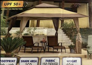 Brand New 13x13 Instant Gazebo Canopy Tent for outdoors, patio, yard for Sale in Corona, CA