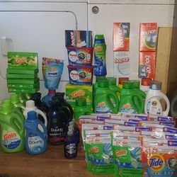 Laundry Supplies Tide Gain Downy Persil Snuggle Dawn for Sale in South Salt Lake,  UT