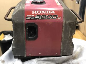 Honda EU3000IS Inverter Generator for Sale in Batavia, IL