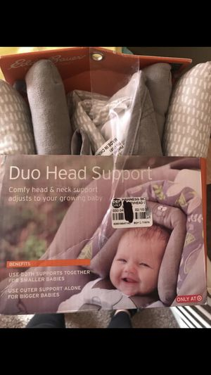 Baby double head support for car seat/ stroller for Sale in Columbus, OH