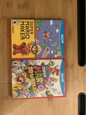 For Wii U System for Sale in Modesto, CA
