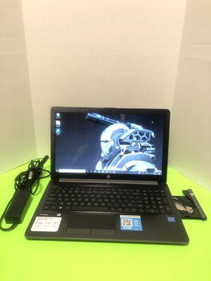HP 15 Laptop Intel CPU , 500GB HD , Wind 10,, Microsoft office,4GB Ram for Sale in Arlington, TX