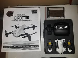 (Foldable drone) with live streaming camera for Sale in Hartford, CT