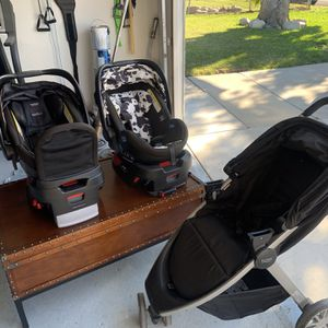 Britax Double Travel System for Sale in Ontario, CA