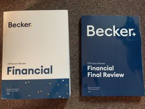 Brand New Latest Becker CPA FAR for Sale in Belmont, CA