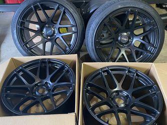 5x120 ESR RF1 wheels deep concave wheels for Sale in Oregon City,  OR