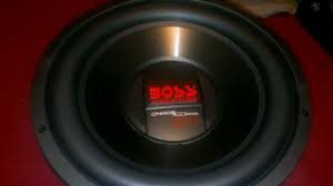 """Boss Chaos Exxtreme 12. 2 """" for Sale in Bakersfield, CA"""