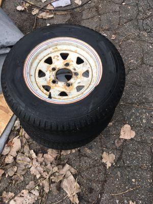 Trailer wheels for Sale in Cranston, RI