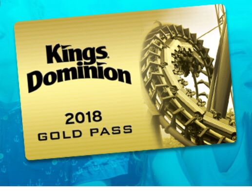 Kings Dominion Gold Pass