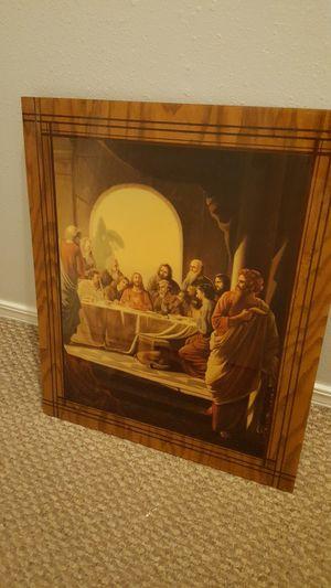 Last supper-$25, Louis Jambor Print(very old) $150. for Sale in Bentonville, AR
