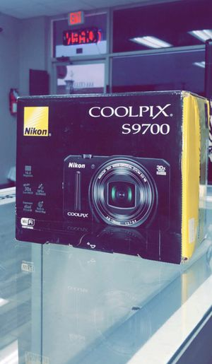 Nikon COOLPIX S9700 16.0 MP Wi-Fi Digital Camera with 30x Zoom NIKKOR Lens, GPS, and Full HD 1080p Video (Black) for Sale in Dallas, TX