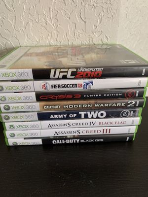 Xbox 360 games for Sale in Port St. Lucie, FL