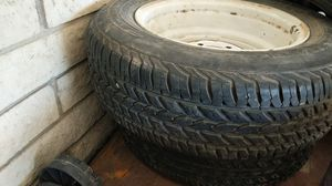2 trailer rims and tires 185/75/r14 for Sale in Glendale, AZ
