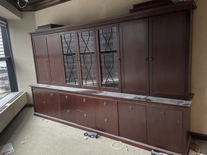 Ashley furniture file cabinet wall mount for Sale in Cleveland, OH