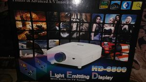 3D optics Projector and screen for Sale in Stockton, CA