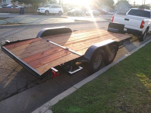 Trailer car. Todo ok .como nuevo for Sale in E RNCHO DMNGZ, CA