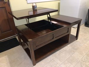 Beautiful Rustic Coffee Table (originally $450) for Sale in Greenville, SC