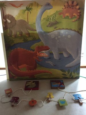Dinosaur Canvas print and wall decoration for Sale in Everett, WA