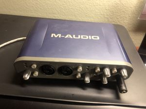M-Audio Fast Track Pro - Audio Interface for Sale in Apopka, FL
