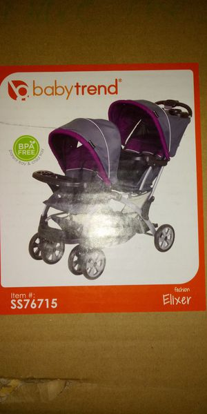 Baby Trend sit n stand double stroller for Sale in Minneapolis, MN