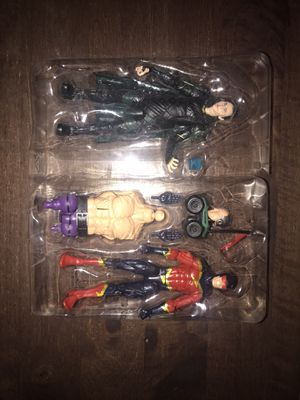 Marvel legends Loki and Spiderman foe Speed Demon for Sale in Glendale, CA