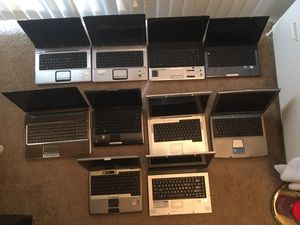 10 Laptop Computer Lot for Sale in Kent, WA