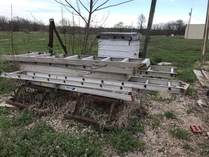 Various size ladders. Going out of business and need them gone for Sale in Trenton, IL