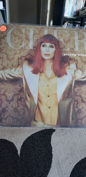 """Cher strong enough 12"""" vinyl record for Sale in Los Angeles, CA"""