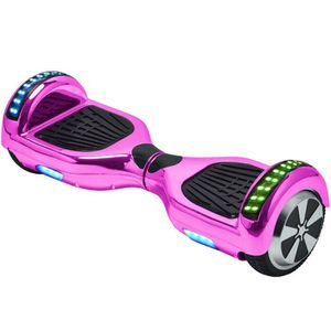 Brand new chrome plated Bluetooth hover board with color changing bumper lights . UL2272 certified for Sale in Smyrna, GA