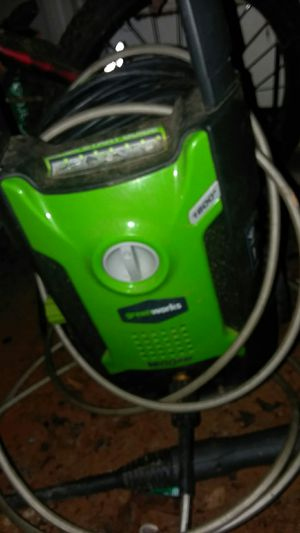 Greenworks pressure washer for Sale in Cleveland, GA