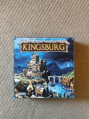 Kingsburg Board Game - Open, complete for Sale in Maplewood, NJ