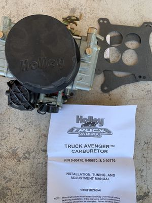 Holly Truck Avenger Carburetor BRAND NEW NEVER USED for Sale in Apache Junction, AZ