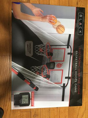 Electronic Over the door basketball hoop game for Sale in San Jose, CA