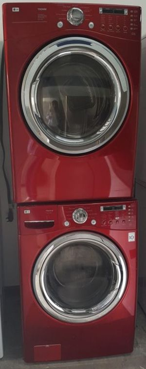 LG TROMM WASHER AND DRYER SET for Sale in Miami, FL
